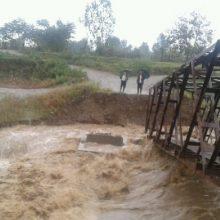 خسارت بارندگی شدید در گیلان/